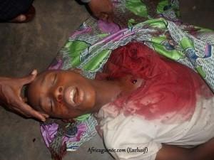 Abattu par les forces de lordre à Conakry