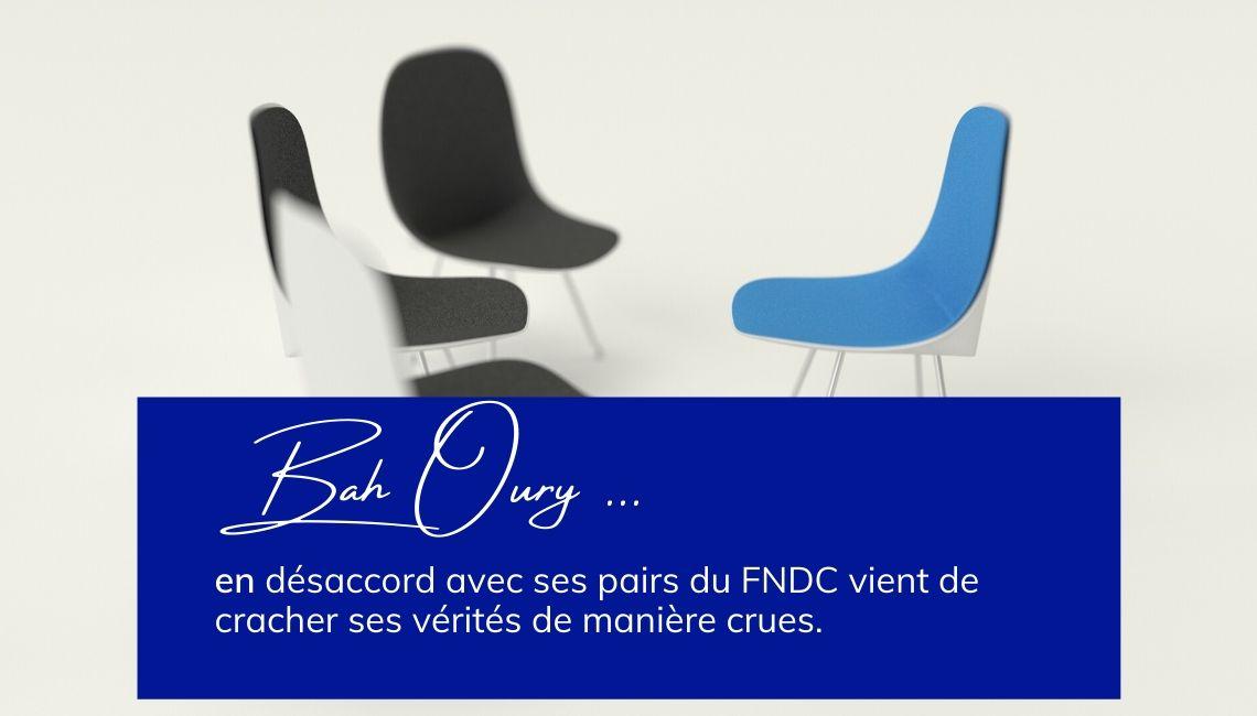 Bah Oury en désaccord avec le FNDC