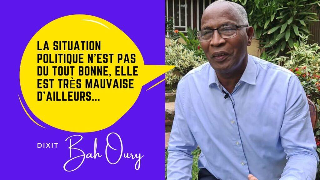 Bah Oury dans LE DÉBAT_ avec BAMBOUGUINEE TV