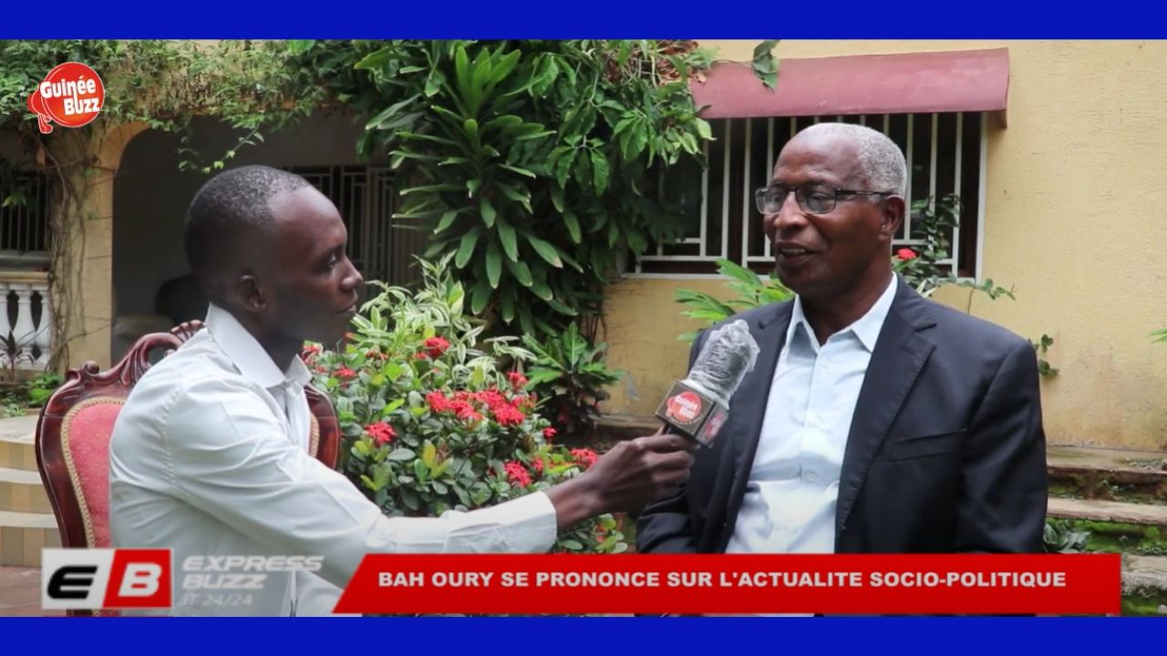 Entretien entre GuineeBuzz et Bah Oury